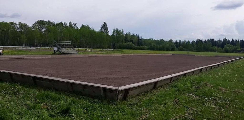 Outdoor Dressage Arena
