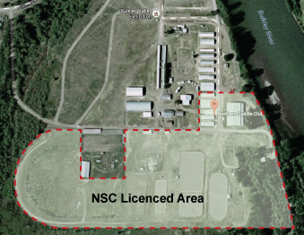 NSC licensed area
