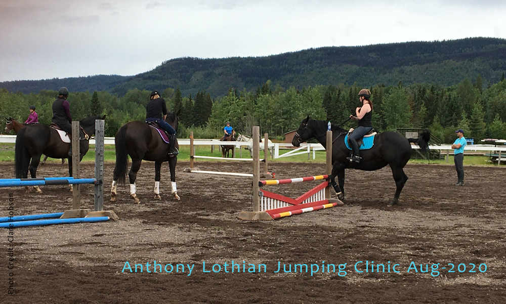 Jumping Clinic with Anthony Lothian - Aug 2020