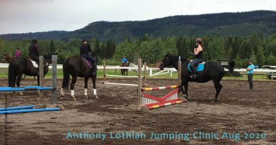 Anthony Lothian Jumping Clinic Aug-2020