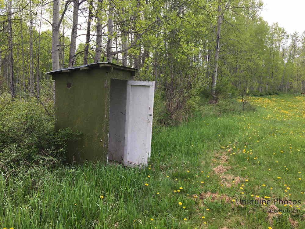 Old Outhouse at NSC Grounds